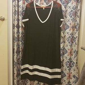 Derek Heart Dresses - Varsity T-shirt Dress